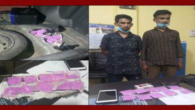 Photo of Arunachal:Two Drug Peddlers Arrested In Roing, 50 Gms Brown Sugar Seized
