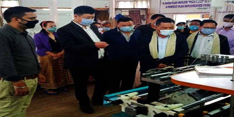 Arunachal: Month long in-service knitting master training programme begins in Bomdila