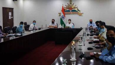 Arunachal CM discussed COVID-19 strategy with health dept