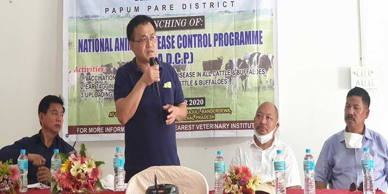 Arunachal: Pige Ligu launches NADCP in Papum Pare district