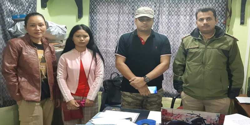 Itanagar-Girl missing from Assam recovered in Donyi Colony