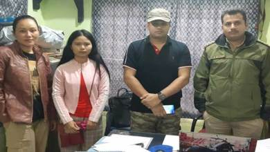 Itanagar- Girl missing from Assam recovered in Donyi Colony