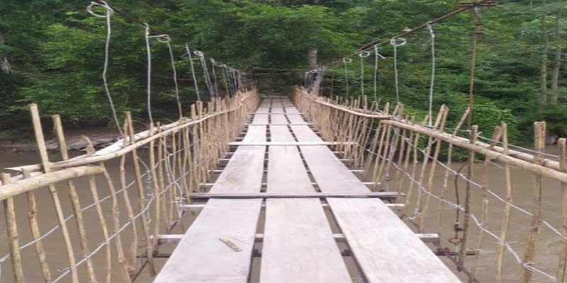 Arunachal: Tamen Bailly bridge closed, special arrangments for commuters
