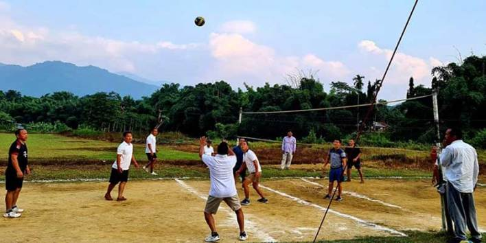 APP Raising Day; sports event held at 2nd AAP BHQ, in Aalo