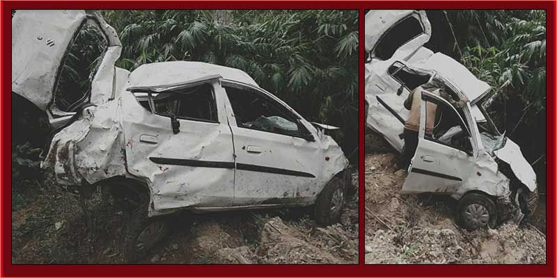 Arunachal: Three persons critically injured in a road accident near Potin