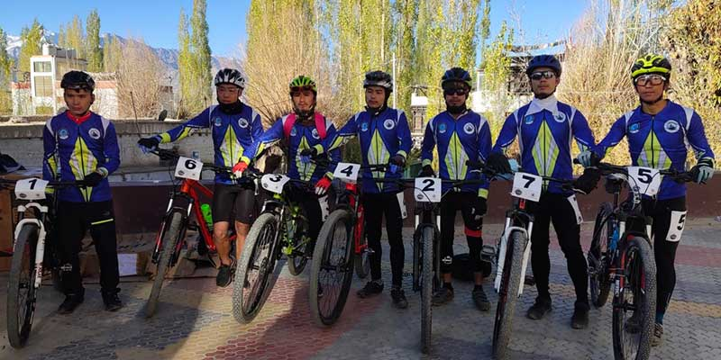 Arunachal: 6 riders from state took part in 'Leh MTB Competition 2020'