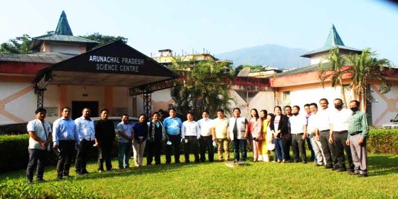 Itanagar: Bamang Mangha reviews activities of S&T