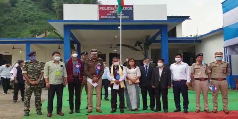 Arunachal: Bamang Felix inaugurates Borduria Police station in Tirap