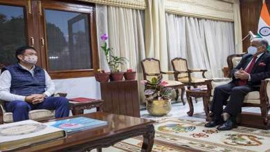 Arunachal Pradesh: Chief Minister calls on the Governor