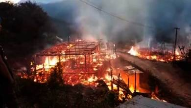 Arunachal: Houses gutted in fire mishaps in Upper and East Siang