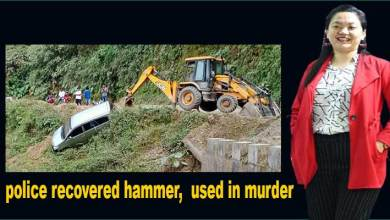 Techi Meena Lishi muder case: police recovered the hammer used in the murder