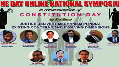 Arunachal:  RGU to Commemorate Constitution Day with a National Symposium