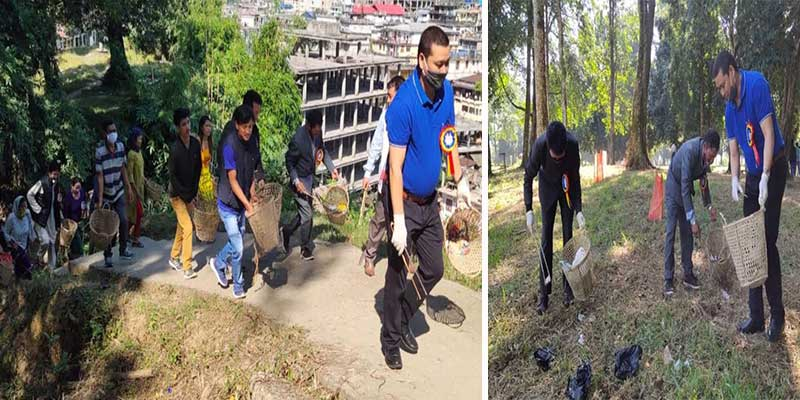 Arunachal: CCLCOSL conducts Swachh Bharat Mission programme in Polo park