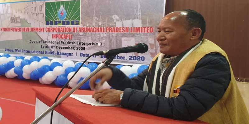 Arunachal: State government is working for revamping the hydropower sector- Balo Raja