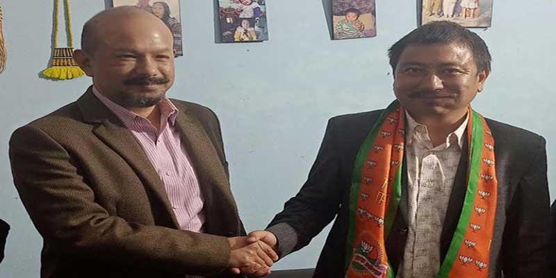 Arunachal: Former Councilor Kangge Moyong joins BJP