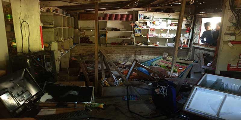 Arunachal: Miscreants vandalized several houses in Pach village