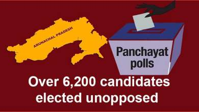 Arunachal Panchayat and Municipal polls: Over 6,200 candidates elected unopposed
