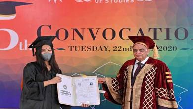 Arunachal University of Studies celebrates it's Fifth Convocation