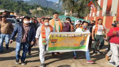 IMC Polls: Tame Phasang holds foot march on last day of campaign