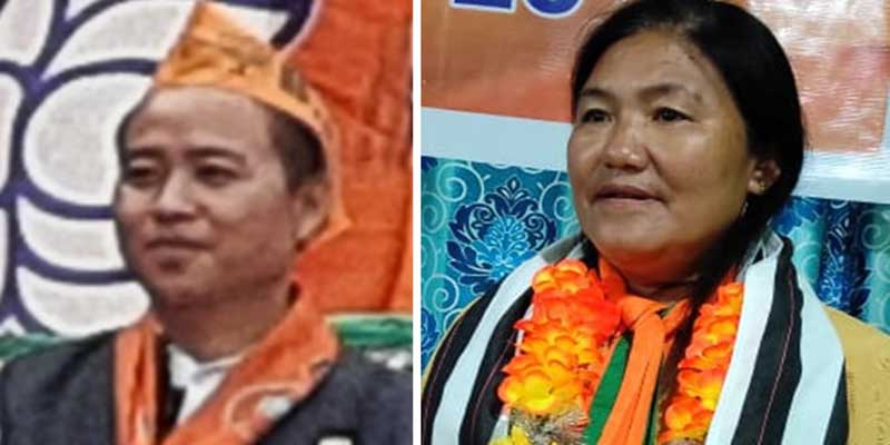 Itanagar: IMC corporatpors Tuvin & Yakia win unopposed