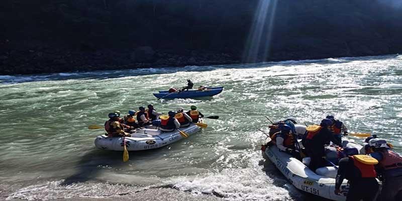 Brahmaputra Amantran Abhiyan: Rafting team reaches Palsi