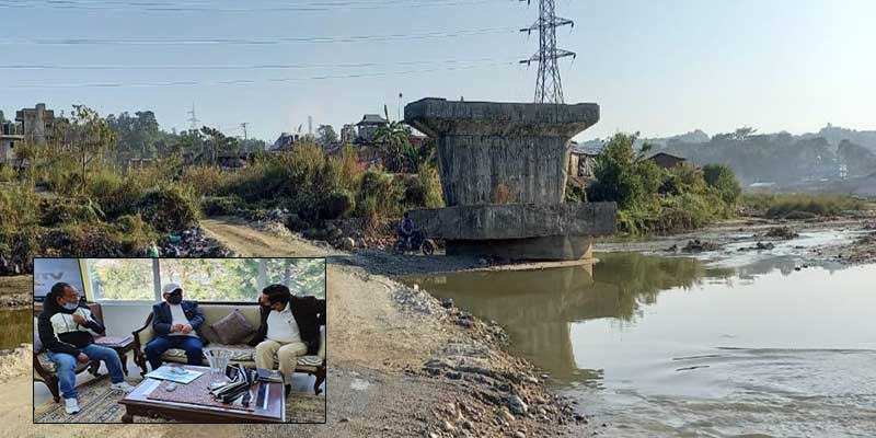 Rebia, Kaso request NFR to expedite rail bridge construction over Pachin River