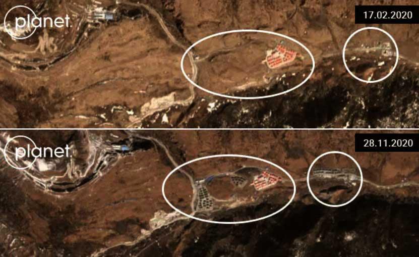 Arunachal: China Sets Up 3 Villages Near Bum La pass