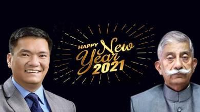 Arunachal: Guv, CM convey New Year greetings