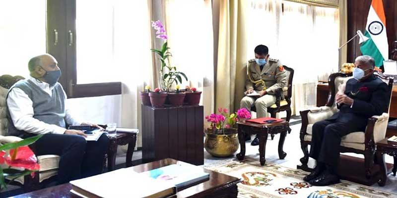 Arunachal: Chief Secretary calls on the Governor