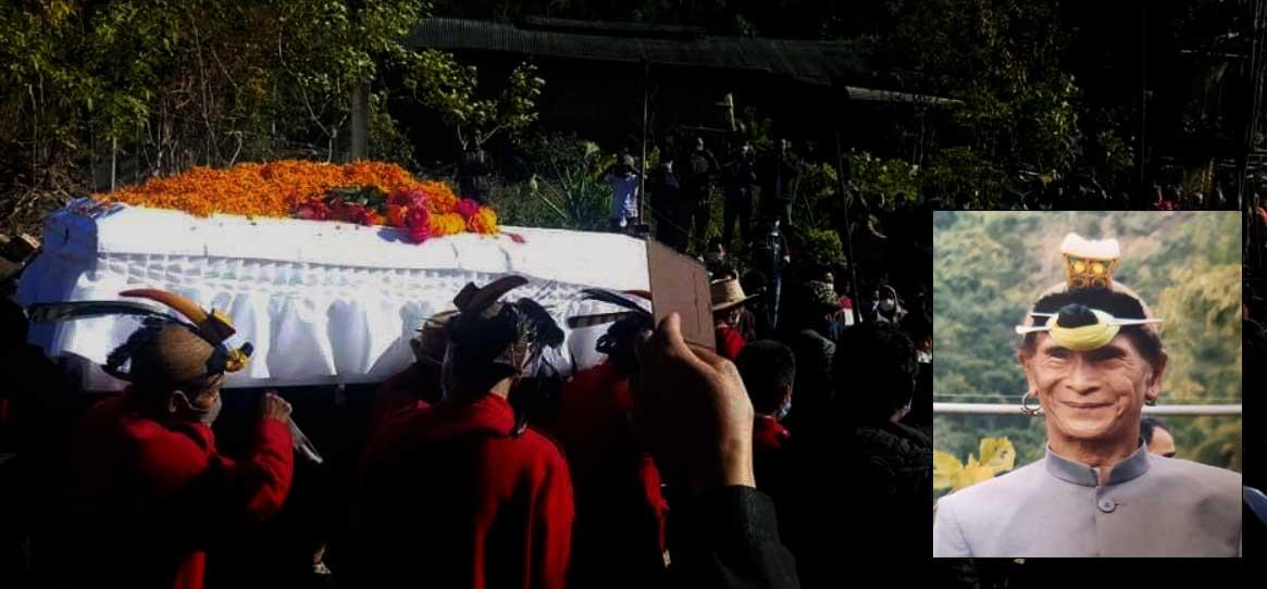 Arunachal: Last rites of Lt.Nabam Takey held at Ompuli village