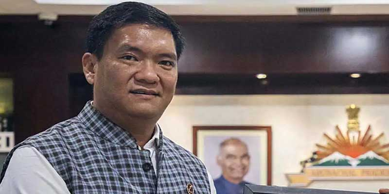 Arunachal: Khandu expresses his happiness over the victory of BJP