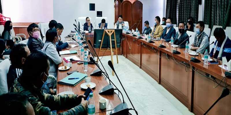 Arunachal: PMGSY review meeting held