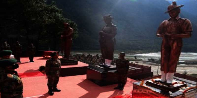 Arunachal: Army Unveils Statues of 1962 India-China War Heroes at Walong War Memorial