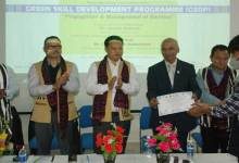 Arunachal University of Studies concludes the 240 hour GSDP programe