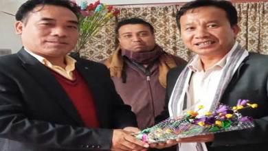 Arunachal:Duyu Tamo appointed KHICNE zone chairman