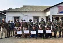 Arunachal: 3 NSCN-K, 2 NSCN-IM cadres surrender in Longding