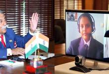 Arunachal Governor interacts with students of Amity International School