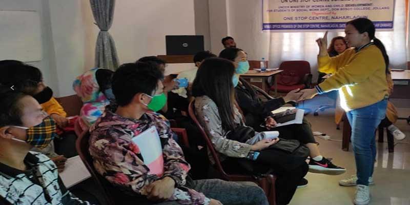 Arunachal: One stop center conducts awareness program on sakhi
