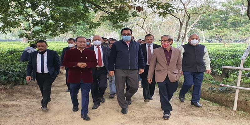 Arunachal: Chowna Mein visits Assam Agriculture University