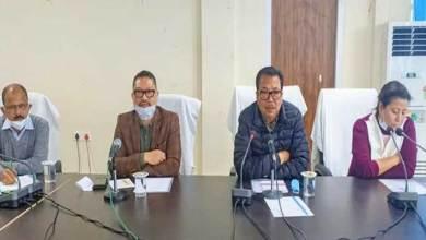 Arunachal: Chowna Mein attends DLMC meeting of Namsai dist