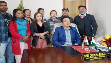 Arunachal: Chukhu Bablu emphasis for better co-ordination among govt servants and panchayat leaders