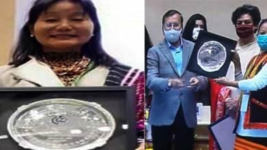 Arunachal: Dr Sajinglu Chai Pul & Amping Ratan receive NCW's honour