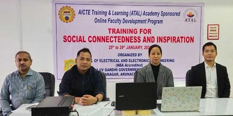 Itanagar- five days faculty development programme begins