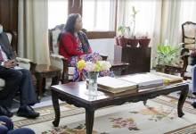 Arunachal:Secretary SJ&E, GoI calls on the Governor