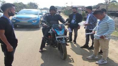 Hope Arunachal Organised Road Safety Awareness Programme at Likabali
