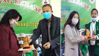 Arunachal:KEK organizes annual excellence award, felicitates meritorious students