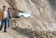 Arunachal: Biyuram Wahge inspects Seijosa-Pakke Kessang road