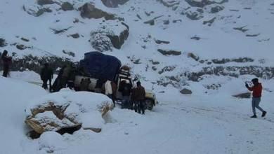 Arunachal records heavy snow fall in Tawang and Sela Pass