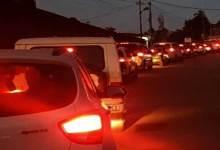 Itanagar:Underpass construction starts at Bank Tinali, Massive traffic Jam witness in capital complex