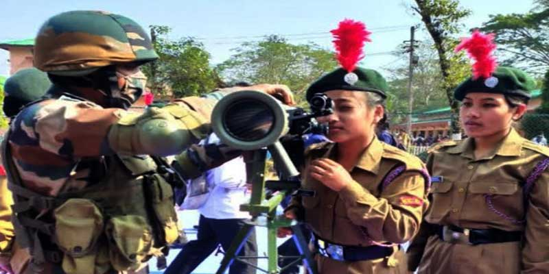Army conducts weapon display programme in Assam & Arunachal Pradesh